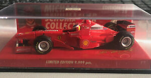 Michael Schumacher 1/43 1998 Ferrari F300 Tower Wing Minichamps Die-cast