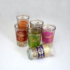Marokkanische Teegläser Türkische Gläser Orientalische Glas 6 Stück