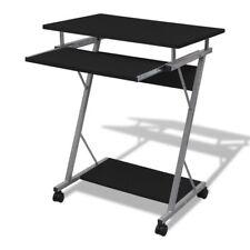 Small Spaces Corner Computer Desk Wheel Castors PC Table Home Office Study Tray