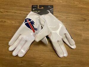 NEW CRISP WHITE Nike Vapor Jet NFL Buffalo Bills Wide Receiver Gloves XXXL