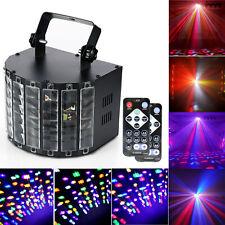 30W Sound Active Disco DJ Light LED Laser Stage Lights Effect RGB Show Club
