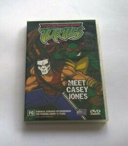 TMNT meet casey jones  dvd clean disk Australian release