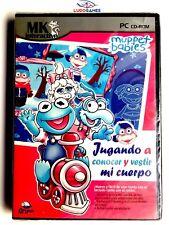 Muppet Babies Jugando Conocer Cuerpo PAL/EUR Precintado Sealed Brand New PC