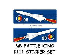 MATCHBOX K111 STICKER SET