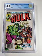 The Incredible Hulk #271 8.5 CGC 2nd app of Rocket Raccoon!! Newsstand!