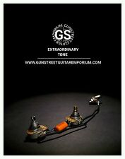 Factory Style - 3/8th CTS - Les Paul Jr  - 50s Style Wiring Harness