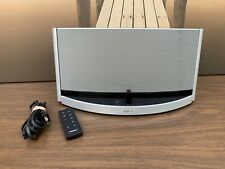 Bose SoundDock 10 Digital Music System W/ Remote Silver/Black 120v