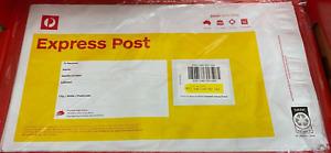 20 x 500g size 5KG MAX  Express Post PrePaid Australia Post Satchels