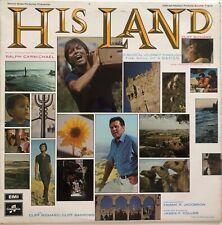 CLIFF RICHARD & CLIFF BARROWS - HIS LAND - 1969 UK RELEASE - VINYL LP ALBUM