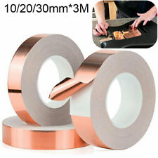 Adhesive Conductive Copper Slug Foil Barrier Tape 30M Roll Tapes Shielding Tool