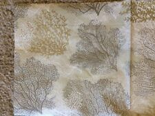 Two (2) New Napkins Ocean Nautical Beach Corals for Decoupage, Paper Crafts