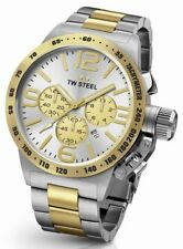 TW Steel CB34 Mens Two Tone 50mm Canteen Watch - 2 Years