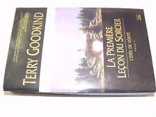 µµ Terry Goodking La premiere leçon du Sorcier L'epee de verité Tome1