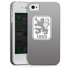 Apple iPhone 4 Premium Case Cover - 1860 grau