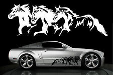 Horse Horses Decal Truck Trailer Car Graphic 10x32 THb
