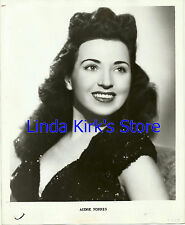 Audre Norris Promotional Photograph Beautiful Brunette Black Dress Head Shot