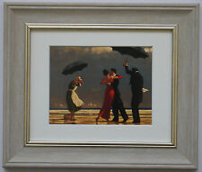 The Singing Butler by Jack Vettriano Framed & Mounted Art Print Grey