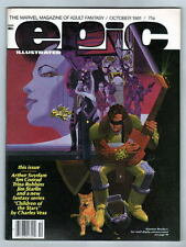 EPIC Illustrated Magazine #8 & 31 Suydam Vess Bolton stories / art