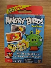 ANGRY BIRDS Card Game W3969 Mattel 2011