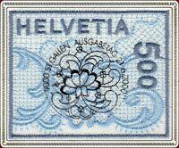 Schweiz 2000 Stickerei Marke, Vollstempel Ausgabetag Mi 1726, SBK / Zst. 998