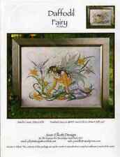 Joan Elliott Daffodil Fairy Cross Stitch Pattern Only