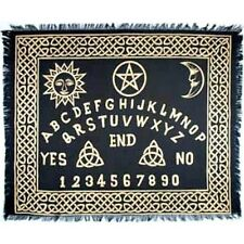 "Ouija-Board altar cloth 24"" x 30""-Seance/Wicca/Fortune"