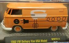 60 1960 ORANGE ELECTRIC DELIVERY VAN 18-27 USA MODEL VW VOLKSWAGEN WALMART M2