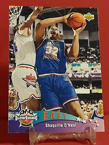 💥1992-93 Upper Deck Shaquille O'Neal Top Prospects Rookie RC #424 Shaq Magic