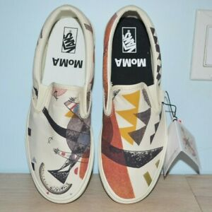 Sold Out Brand New With Tags Vans Moma Kandinsky Slip On Size 9.5