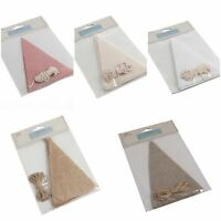 Bunting Craft Kit Make Your Own Wedding / Birthday / Party / Baby Shower Fabric