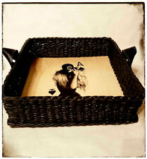 "Handmade basket ""The Queen of Spades"""