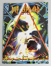 Def Leopard hysteria  Song Book Sheet Music Melody Lyrics Chords