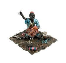 Arabischer Schneider - Orientalische Wiener Bronze - Teppichbronze - Araberfigur