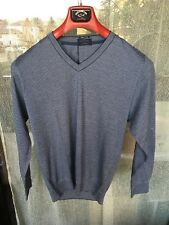 Pull a V  Paul Shark Luxury Collection,Cotone e Cashmire Pelle,Tg. M