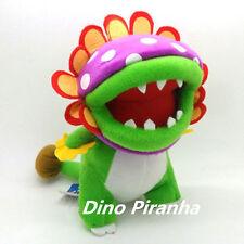 "Super Mario Bros. Dino Piranha 9"" Plush Toy Stuffed Figure Doll Collectible US"