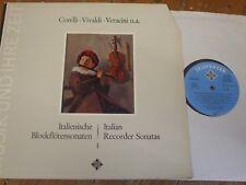 SAWT 9518-A Italian Recorder Sonatas Vol. 1 / Bruggen / Bylsma / Leonhardt