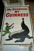 My Goodness My Guinness Poster Original 2005 Promo 35.5 x 24 Beer (SEAL)