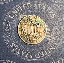 1856 THREE CENT SILVER COLLECTOR COIN FOR COLLECTION OR SET *FREE SHIPPING*