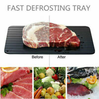 Quick Fast Thawing Defrosting Tray Kitchen Safe Defrost Thaw Frozen Meat Food