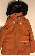 Marikoo Damen Winterjacke NEU Gr. S In Orange