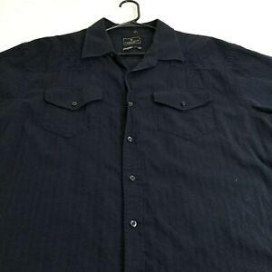Ecko Shirt Ecko Over Print Button Shirt Size M