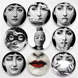 Fornasetti Style 7-Inch Plates Home Decoration Gift Plate Decorative Wall