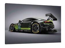 2016 Aston Martin V8 Vantage GTE - 30x20 Inch Canvas - Framed Picture