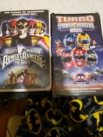 Turbo: A Power Rangers Movie, Mighty Morphin Power Rangers The Movie 2 Vhs set