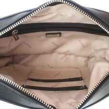 Hot DEVYN Mini Saffiano Crossbody Handbags Top Zip Bags Black Purse