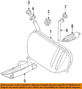 MERCEDES OEM 86-93 300E 3.0L-L6 Fuel System-Fuel Filler Hose 1244700005
