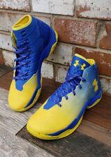 UA Curry 2.5 Basketball Shoes Dub Nation Lights Team Royal 1274425-790 GSW SZ 12
