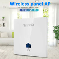 Tenda W6-S 300Mbps 2.4G Indoor 86 Type Wall WiFi AP Wireless Access Point uk