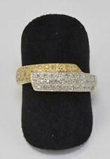 ANILLO CON DIAMANTES EN AUS 585er ORO BRILLANTE 14kt Diamante nr.1568