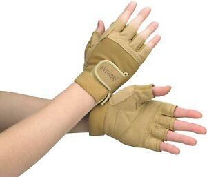 New EVER-DRI Performance Gloves By DSI Tan Beige Microfiber Nylon Size Medium